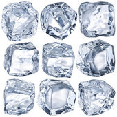 Cubes of ice — Foto Stock