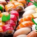 Sushi rolls — Stock Photo #9604841