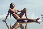 Bikini Fashion Model — Stock Photo