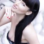 Portret van een mooie jonge sexy vrouw — Stockfoto