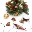 Winter decoration — Stock Photo