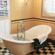 Stock Photo: Bath room in classic style