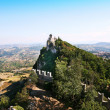 View at San-Marino castle — Stock Photo