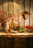 Autumn in interior — Stock Photo