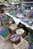 Lavender village shop — Stock Photo
