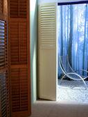 Design of windows in interior — Stock Photo