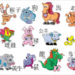 China horoscope — Stock Vector #8071567
