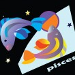 Pisces — Stock Vector
