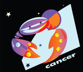 Cancer — Stock Vector