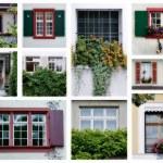 Swiss windows — Stock Photo #9847107