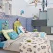 Colorful childre room — Stock Photo
