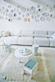 White interior — Photo