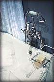 Classic bath room — Stock Photo