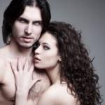 Love vampires — Stock Photo