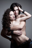 Aşk vampirler — Stok fotoğraf