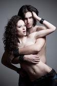 Vampiros de amor — Foto de Stock
