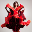 Stock Photo: Flamenco, studio shot