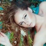 Mermaid, closeup portrait — Stock Photo