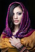 Mooi indiase meisje — Stockfoto