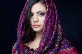 Bella ragazza indiana — Foto Stock