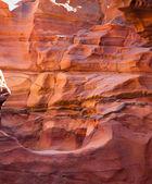 Color canyon, Egipt — Stock Photo