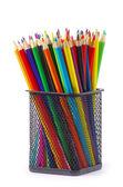 Verschillende kleur potloden — Stockfoto