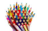 堆栈的铅笔 — 图库照片