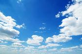голубое небо — Стоковое фото