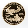 图库照片: AmericEagle Gold Coin Proof $50