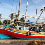 villaggio di pescatori di Karimunjawa — Foto Stock