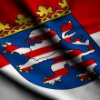 Flag of Hesse - Stockfoto