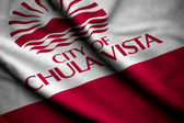 Flag of Chula Vista — Stock Photo