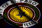 Flag of El Paso — Stock Photo