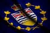 Flag of Lieutenant-Governor of British Columbia — Stock Photo