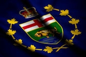 Flag of Lieutenant-Governor of Manitoba — Stock Photo