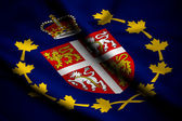 Flag of Lieutenant-Governor of Newfoundland and Labrador — Stock Photo