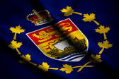 Flag of Lieutenant-Governor of New Brunswick — Stock Photo