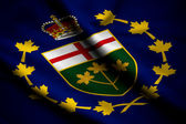 Flag of Lieutenant-Governor of Ontario — Stock Photo