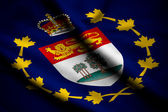 Flag of Lieutenant-Governor of Prince Edward Island — Stock Photo