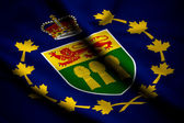 Flag of Lieutenant-Governor of Saskatchewan — Stock Photo