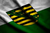 Flag of Saxony — Stock Photo