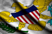 Flag of United States Virgin Islands — Stock Photo
