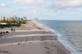 Playa de fort lauderdale, miami — Foto de Stock