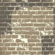 Royalty-Free Stock Vector Image: Grunge brick wall background for your message. Vector, EPS10