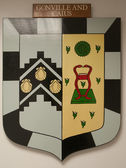 Gonville and Caius College Cambridge Coat of Arms — Stock Photo