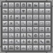 Grey icons — Stock Vector #9926481