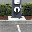 Electric Vehicle Charging Station - 图库照片