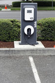 Electric Vehicle Charging Station — Stock Photo
