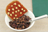 Beans and Toast — Stock Photo