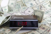 Old Time and Money — Stock Photo